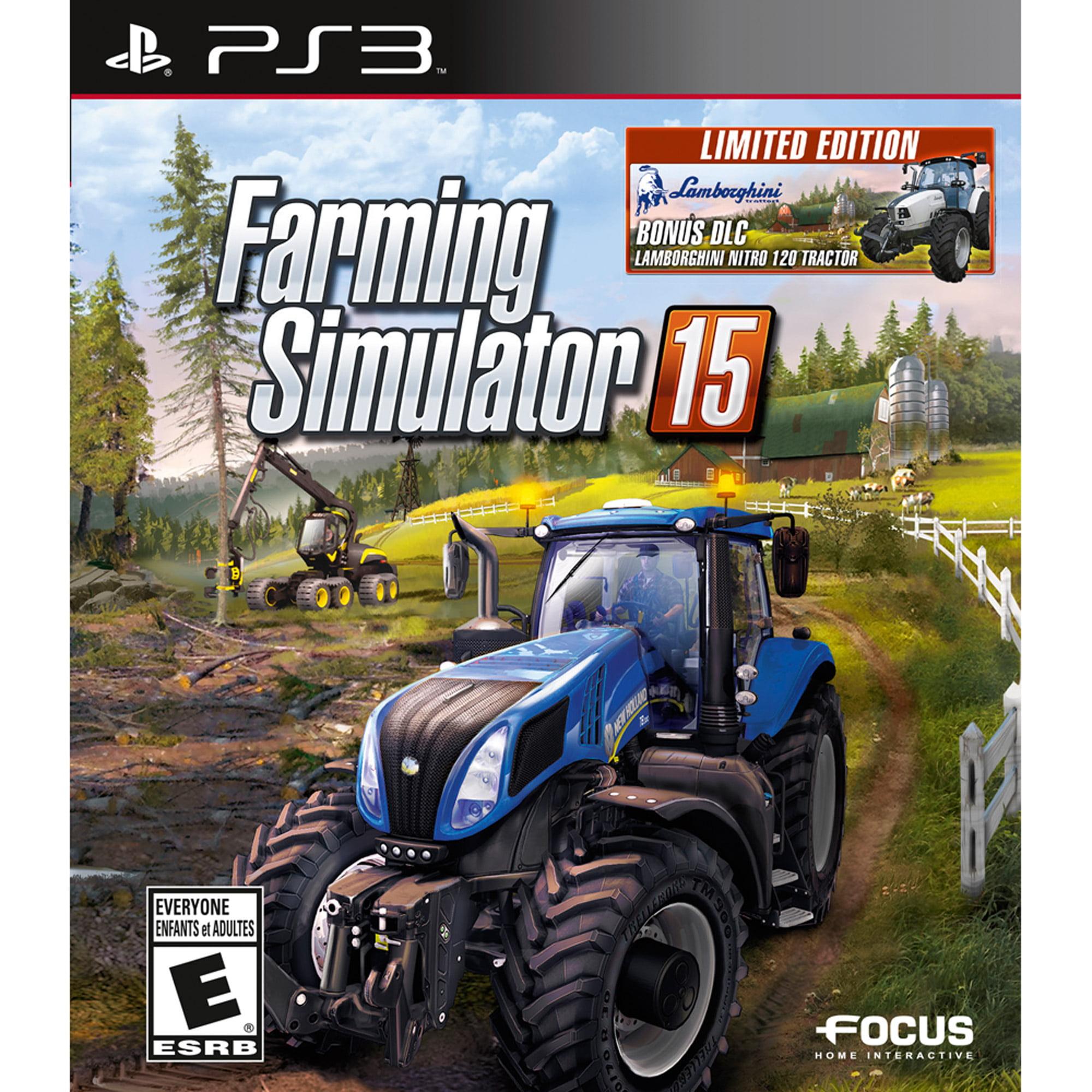 Farming Simulator 15 with Walmart Exclusive Lamborghini Tractor (PS3)