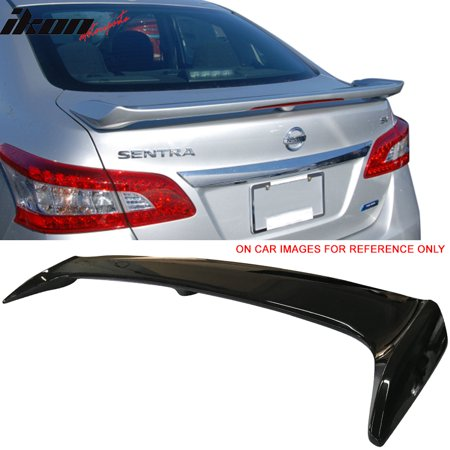 Fits 13-17 Nissan Sentra Factory Style Trunk Spoiler Painted #KH3 Black