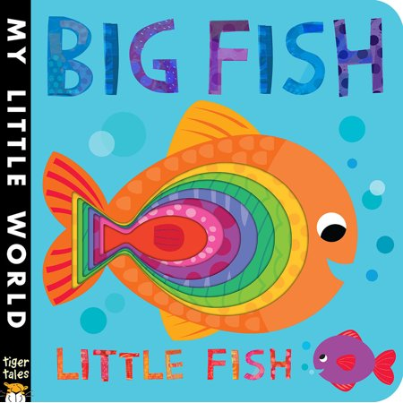 Big Fish Little Fish (Board Book) (The Big World And The Little House)