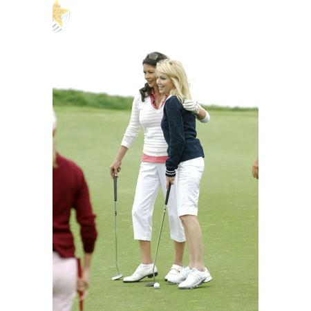 Catherine Zeta-Jones Heather Locklear In Attendance For The Michael Douglas & Friends Celebrity Golf Benefit Trump National Golf Club Rancho Palos Verdes Ca April 29 2007 Photo By Michael (Best Hiking Trails In Palos Verdes Ca)