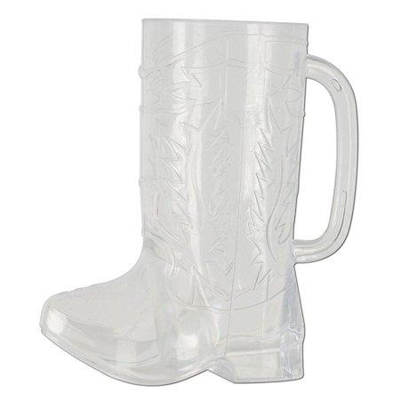 Plastic Cowboy Boot Mug (Pack of 12)
