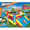 Banzai Sports Zone Bounce Arena (Inflatable Summer Backyard Jumping House Bouncing Castle)