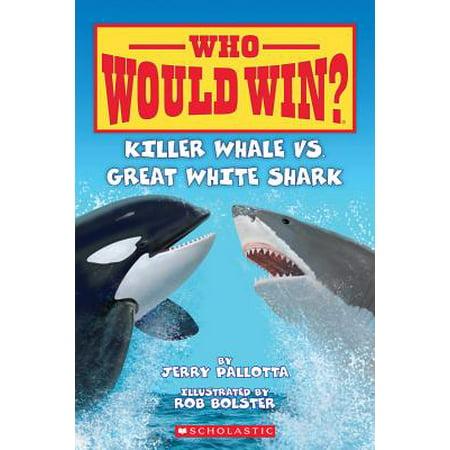 Killer Whale vs. Great White Shark (Paperback) ()