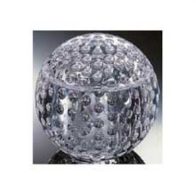 Grainware Luxury Golf Ball Ice - Clear Plastic Ice Bucket