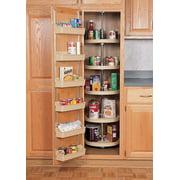"Pantry Cabinet Lazy Susan, Plastic 5 Shelf Full Circle Pantry Sets, 18"" Diameter Dimensions 5 Shelf Full Circle... by Lazy Susans"