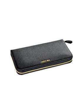 950cf3f83c70 Product Image Prada Womens 1ML506 2BNC Vitello Move BI Leather Wallet Nero  (Black)