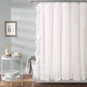 Reyna Shower Curtain White72x72