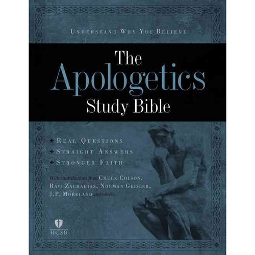 The Apologetics Study Bible, Mahogany LeatherTouch