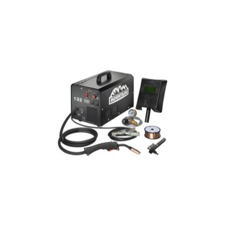 Mountain MTN-MG132 120-amp Commercial Portable [115-volt] Mig (Clarke We6523 130en 120 Volt Fluxcore Mig Welder)