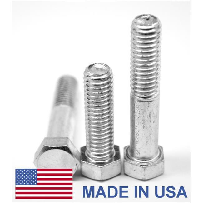 ASMC Industrial 0.31in. -18 x 1.38 in. - PT Coarse Threaded Grade 8 Hex Cap Screw, USA Alloy Steel Yellow - Zinc Plated - 1000 Piece