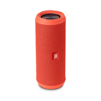 JBL Flip 3 Orange Splashproof Portable Bluetooth Speaker with Microphone