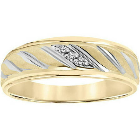 Diamond accent rope design 10kt yellow gold wedding band walmart diamond accent rope design 10kt yellow gold wedding band junglespirit