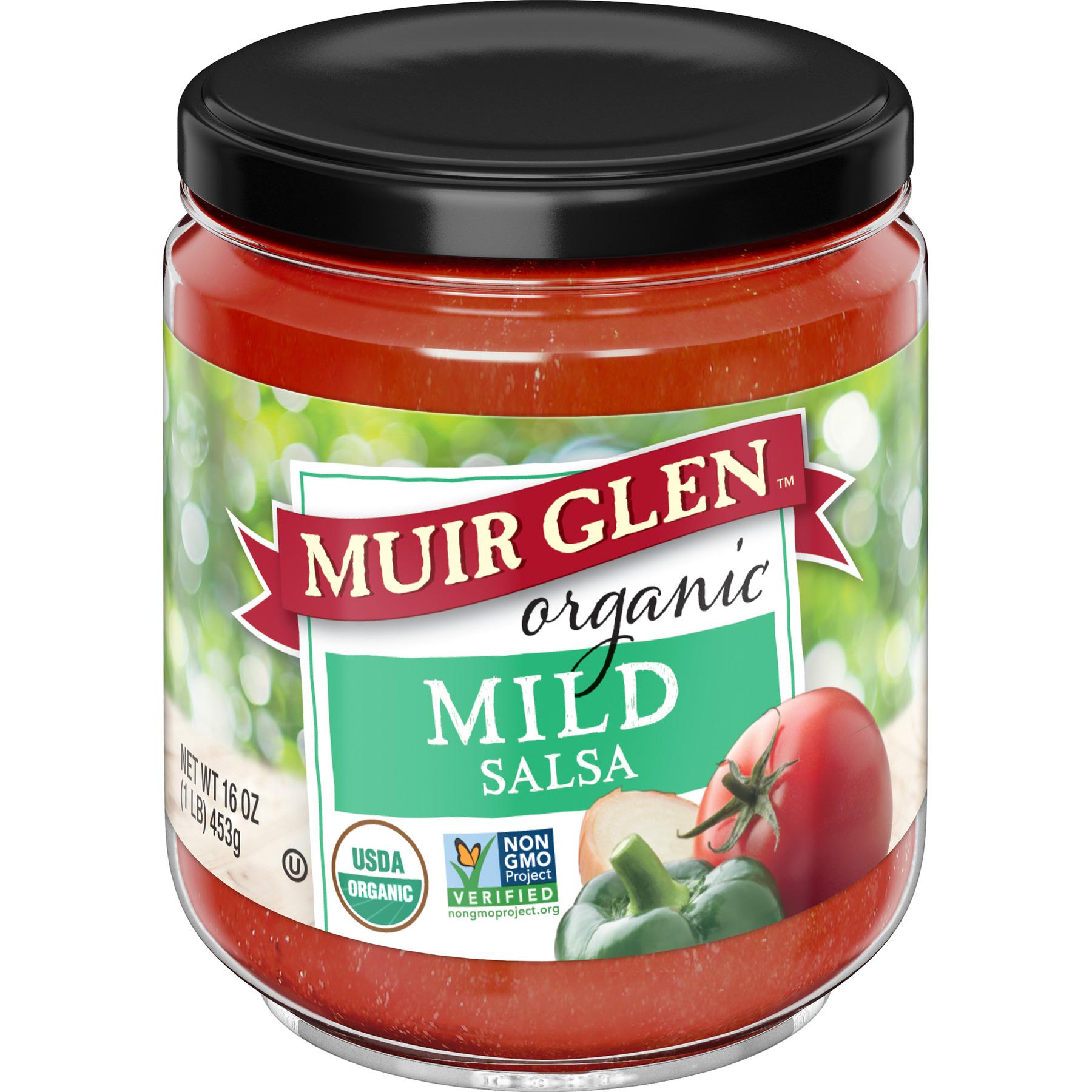 (2 Pack) Muir Glen Organic Mild Salsa, 16 oz Can