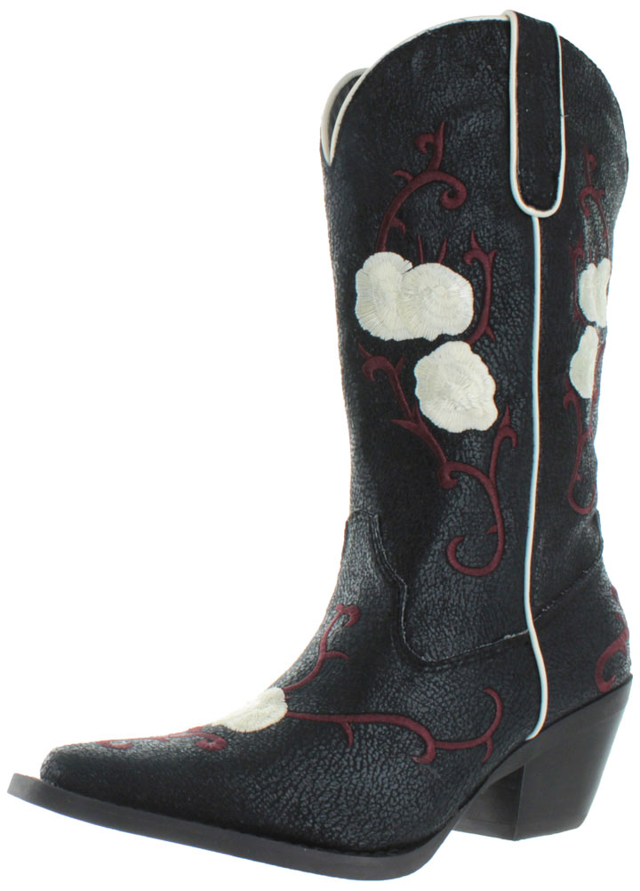 Nomad Buck Women's Western Cowboy Boots Cowgirl by