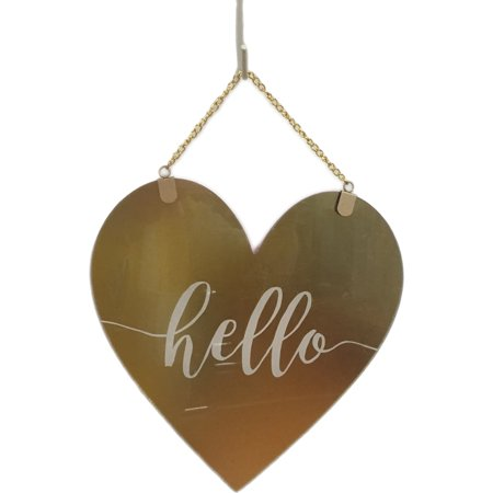 Valentine's Day Hello Sign