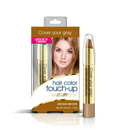 Cover Your Gray Waterproof Hair Color Touch-up Pencil - Medium Brown