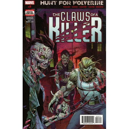 Marvel Hunt for Wolverine #3 The Claws of a Killer (Marvel Wolverine Claws)