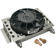 Derale 12-3/4 x 9-3/8 x 4-5/16 in Fluid Cooler/Fan P/N 15850