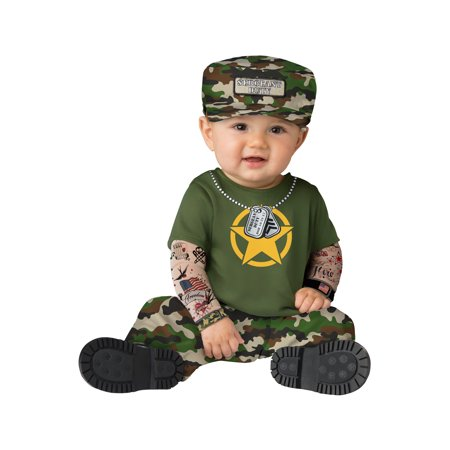 Sergeant Duty Infant Costume