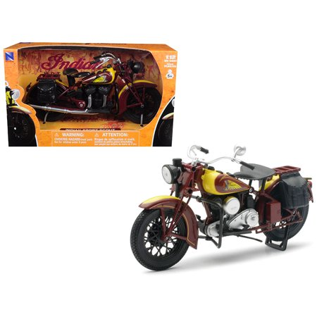 1934 Indian Sport Scout Bike Motorcycle 1/12 Diecast Model by New Ray