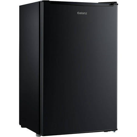 Galanz 3.5 Cu Ft Single Door Mini Fridge GL35BK,
