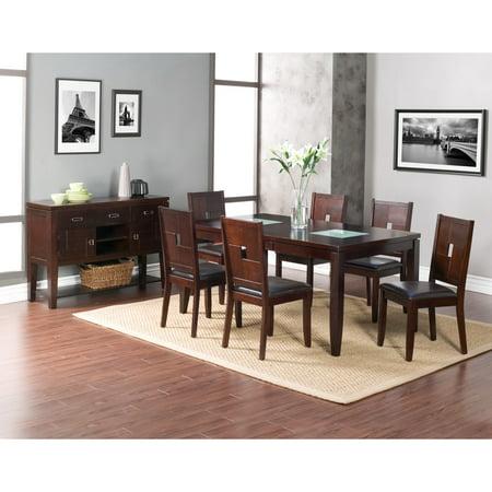Alpine Furniture  Lakeport Espresso Dining Chairs (Set of