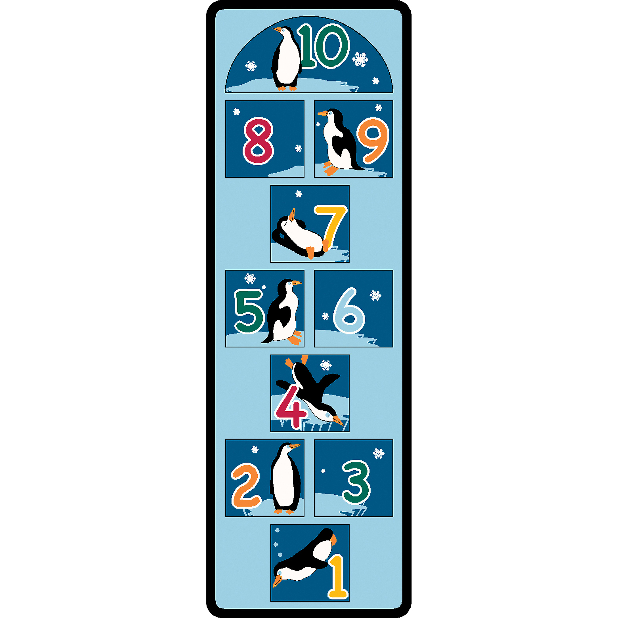 Learning Carpets Penguin Hopscotch