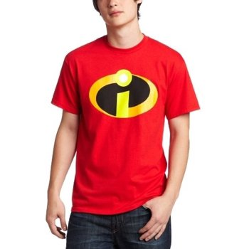 Disney The Incredibles Men's Logo T-Shirt