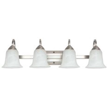 Feit Electric 4-Light Led Vanity Fixture, Brushed Nickel, 29-5/8 In., Uses (4) 26-Watt Integrated Led Modules