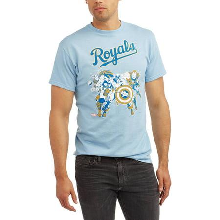 MLB Kansas City Royals Men's Marvel Super Hero