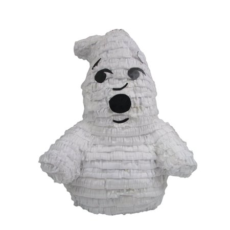 Friendly Ghost Pinata, Party Game, 3D Centerpiece Decoration and Photo Prop for Halloween or Ghostbusters Birthday - Easy Appetizer Ideas For Halloween Party
