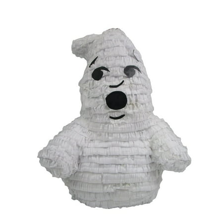 Friendly Ghost Pinata, Party Game, 3D Centerpiece Decoration and Photo Prop for Halloween or Ghostbusters Birthday (Weird Halloween Party)