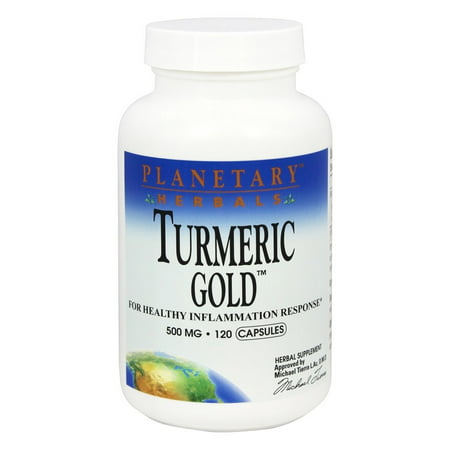 Planetary Herbals - Turmeric Gold 500 mg. - 120