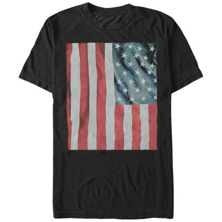 a1ab75d10 Lost Gods - Men's Fourth of July Waving American Flag T-Shirt ...