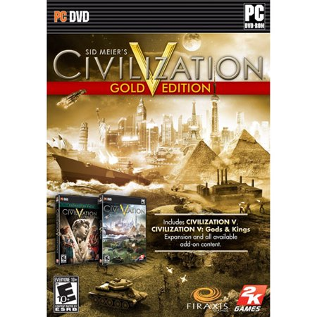 Sid Meiers Civilization V Gold Edition - Civilizations Game