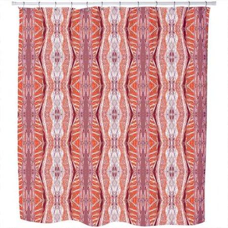 uneekee massai red shower curtain. Black Bedroom Furniture Sets. Home Design Ideas