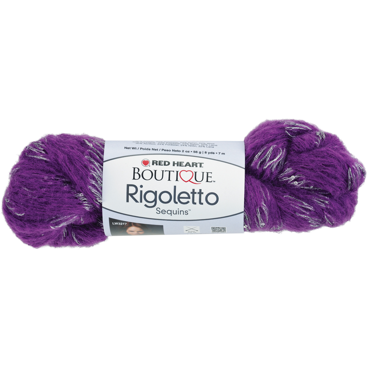 Red Heart Boutique Rigoletto Yarn-Stormy - Prints
