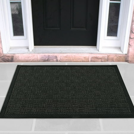 Rubber Scraper Mat (Ottomanson Loop Carpet Rubber Backed Entrance Scraper Doormat )