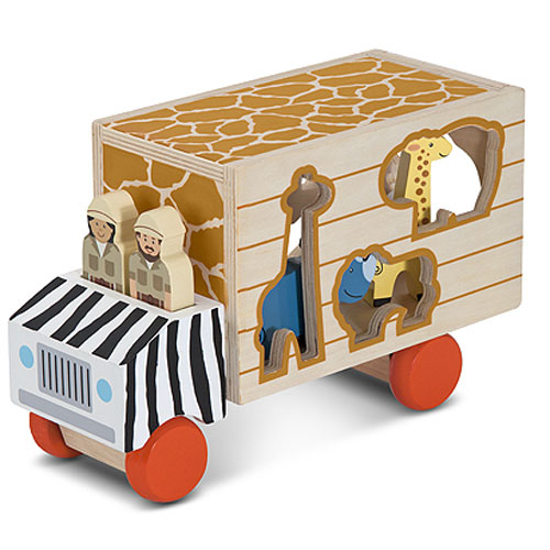 Animal Rescue Shape Sorting Truck by Melissa %26 Doug