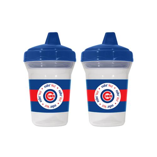 Baby Fanatic BFA-CUB122 Chicago Cubs Mlb 5oz Sippy Cup [2 Pack]