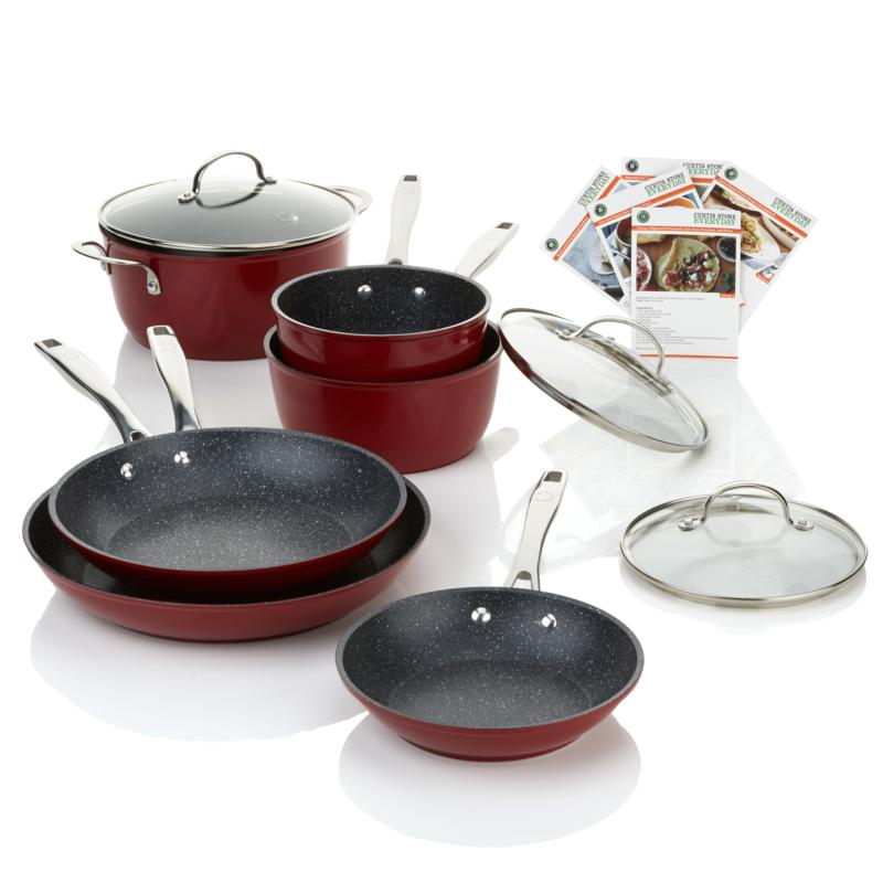 Curtis Stone Durapan 9 Piece Forged Nonstick Cookware Set