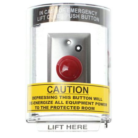 STI 20-1184 Stopper w/ Keyed Emergency Power Off Button & Emergency Seal