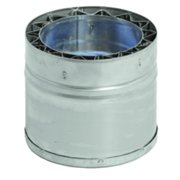 DuraVent W2-TC10 10 Inch Double Wall Tee Cap From the FasNSeal Series
