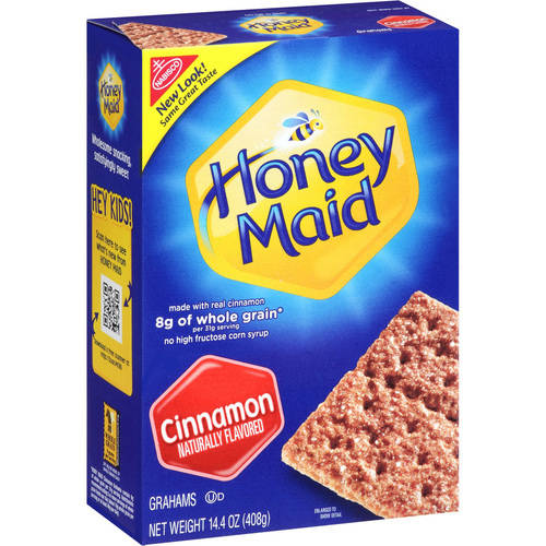 Nabisco Honey Maid Cinnamon Grahams, 14.4 Oz