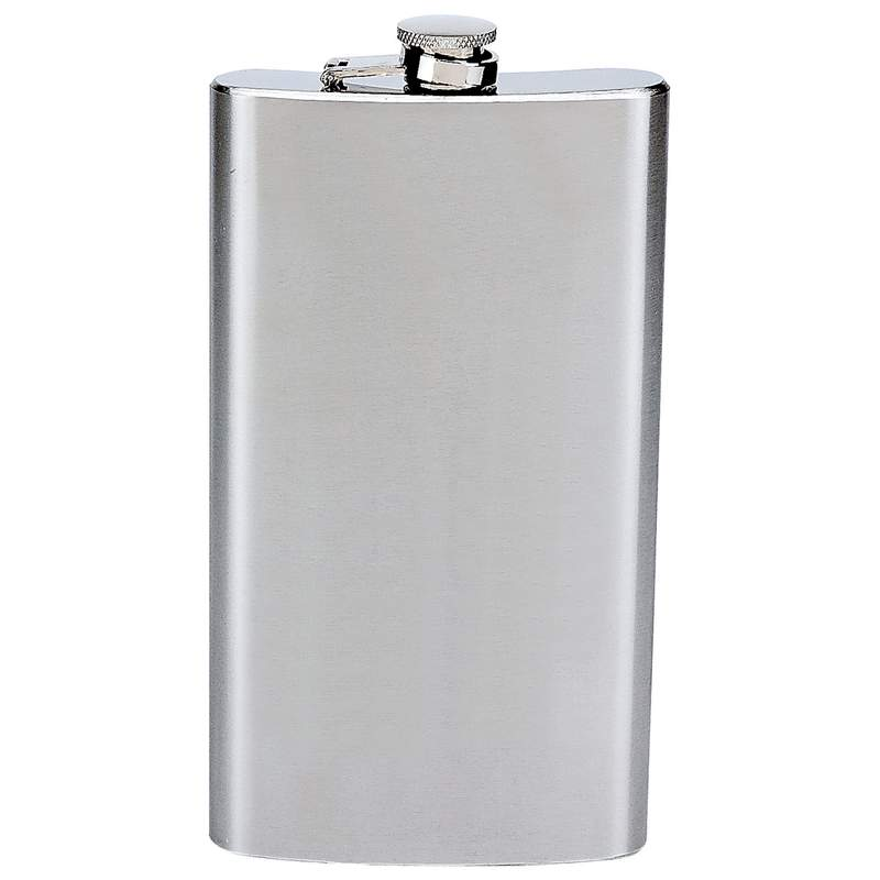 Maxam 12oz Stainless Steel Hip Flask