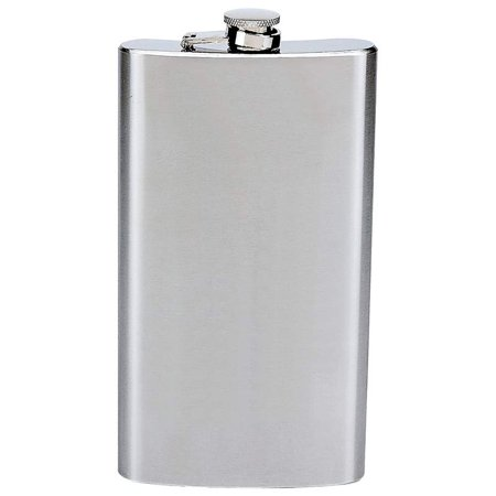 Upc 024409027338 12 Oz Hip Flask With Hinged Cap