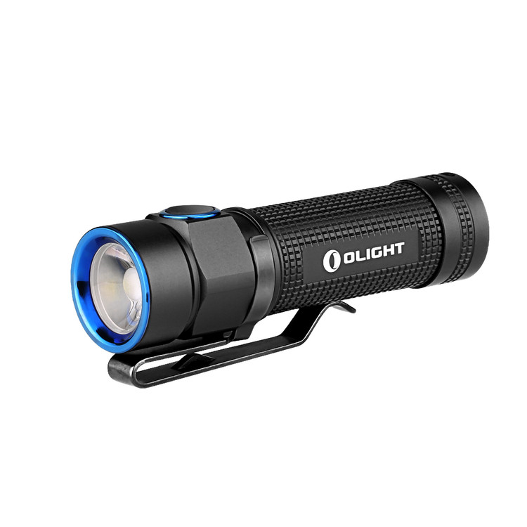 Olight S1A Baton Cree XM-L2 LED 600 Lumens Flashlight Variable-Output Side-Switch LED Flashlight