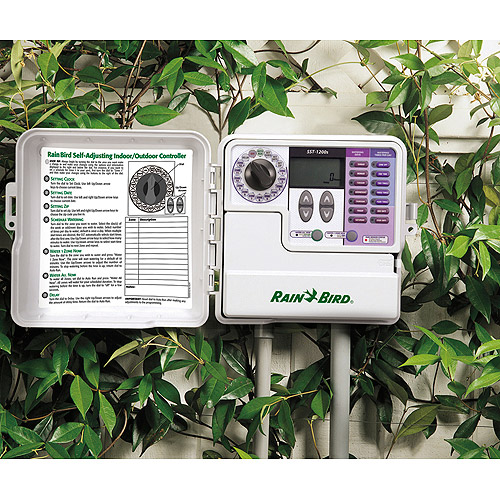 Rain Bird 6 Zone Simple Set Indoor/Outdoor Sprinkler Timer