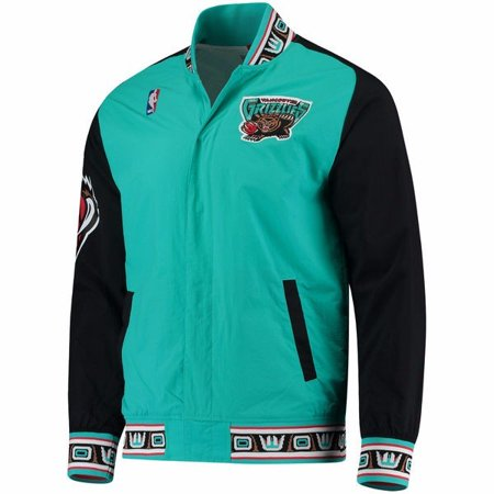 b590a182f30 Mitchell   Ness - Vancouver Grizzlies NBA Mitchell   Ness Teal 1995-96  Hardwood Classics Authentic Warm Up Jacket Jacket For Men - Walmart.com