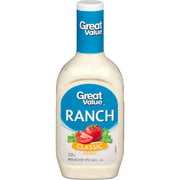 Great Value Classic Ranch Dressing, 48 fl oz